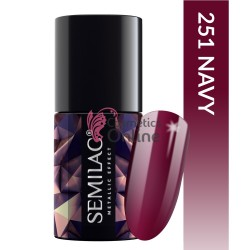Top Coat Semilac Metalic Effect 251 Navy 7ml